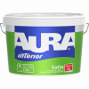 Краска Aura 2.7л Interior Satin для Обоев и Структурных Поверхностей