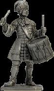 Гренадерский барабанщик лейб-гвардии Преображенского полка, 1708-12 гг. Россия (олово)