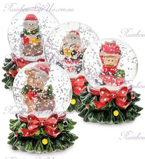 "Шар со снегом ""Новогодний"""