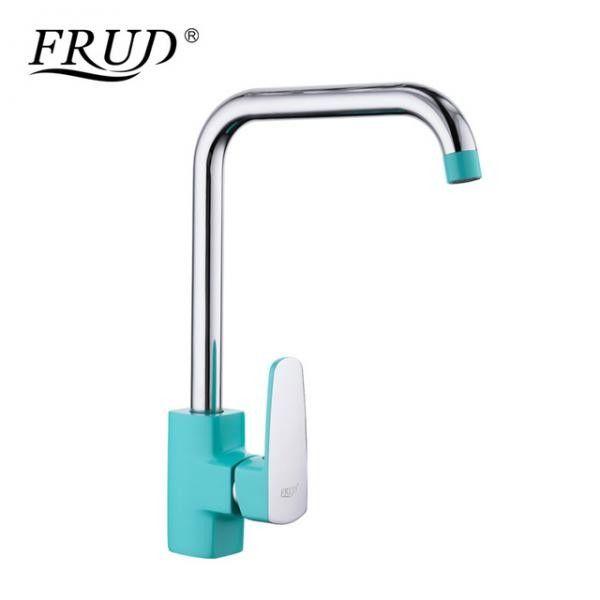 Смеситель для кухни Frud R40303 Бирюзовый