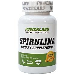 PowerLabs Spirulina 200 табл