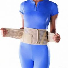 OPPO 2263. Полужесткий пояснично-крестцовый корсет с массажным пелотом. (24 см)