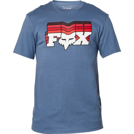 Fox Off Beat SS Tee Blue Steel футболка