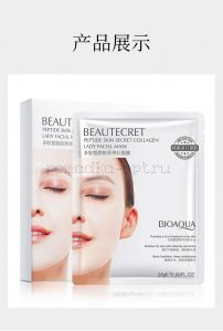 BIOAQUA Beautecret Peptide Skin Secret Collagen гидрогелевая