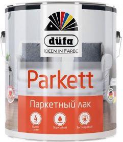 Лак Паркетный Dufa Retail Parkett 0.75л Матовый, Алкидно-Уретановый / Дюфа Ритейл Паркет