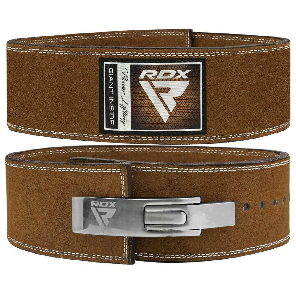 Атлетический пояс RDX X2 PRO NUBUCK