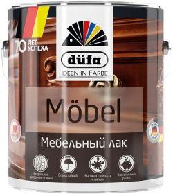 Лак Мебельный 2-в-1 Dufa Mebel 0.9л Глянцевый для Внутренних Работ / Дюфа Мебель