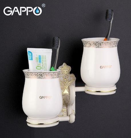 Стаканы для зубных щеток Gappo G3608 Бронза