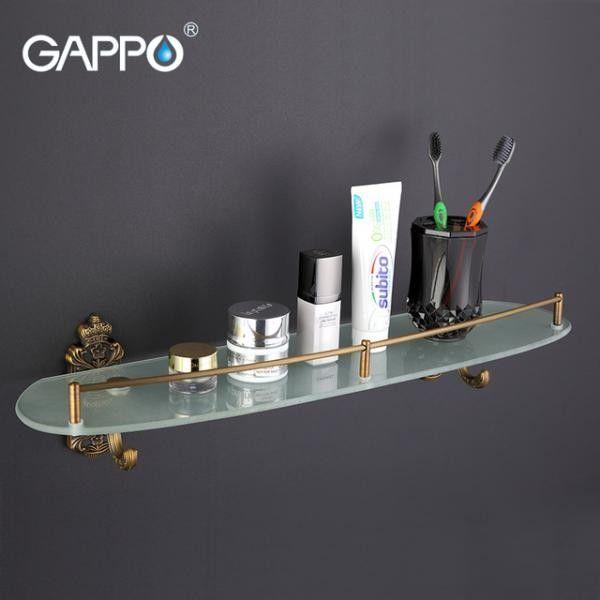 Полка для ванной Gappo G3607 Бронза