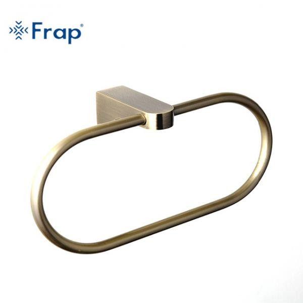 Бронзовый полотенцедержатель Frap F1404