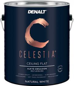 Краска для Потолков Denalt Celestia New Ceiling White 3800 1л Супер Белая