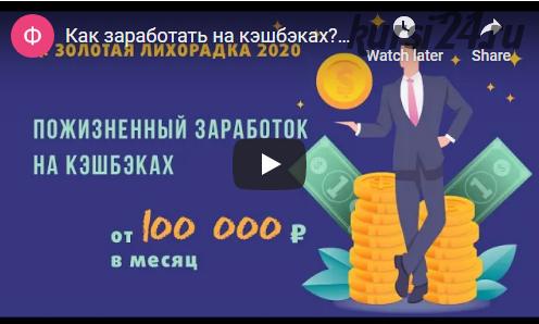 Золотая лихорадка 2020. Пакет продвинутый (Сергей Васютин)