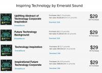 Создание стокового трека Inspiring Technology (Emerald Sound)