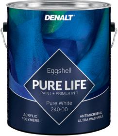 Краска для Стен Denalt Pure Life Acrylic 240 3.78л Яичная Скорлупа, Акриловая