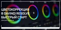 Цветокоррекция в Davinci Resolve: быстрый старт (Дмитрий Ларионов)