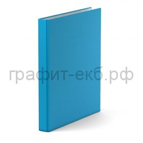 Файл А4 3,5см 4к.ErichKrause NEON голубой 39060