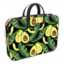 Портфель А4+ ErichKrause ткань Avocado Night черный/зеленый 52661