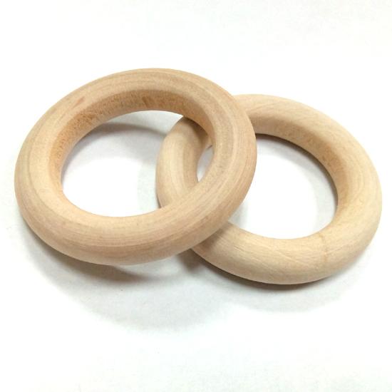 Кольцо из дерева d 35мм береза
