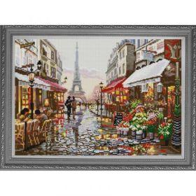 НИК 1238. Прогулка по Парижу. А3 (набор 1650 рублей) Конек