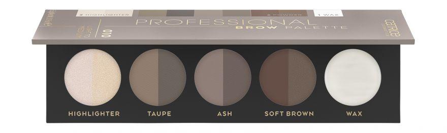 Палетка для макияжа бровей Catrice Professional Brow Palette