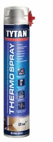 Напыляемая Теплоизоляция 800мл Tytan Professional Thermospray Бытовая, Полиуретановая