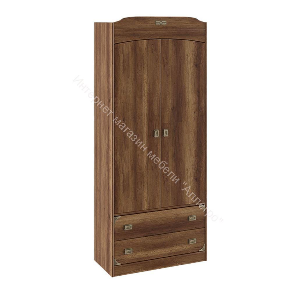 Шкаф комбинированный для одежды «Навигатор» (Дуб Каньон)