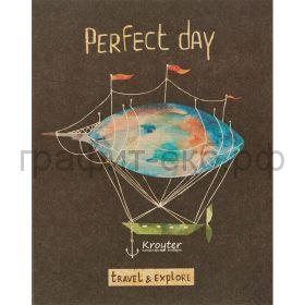 Тетрадь А5 48л.кл.Kroyter Perfect day 06333