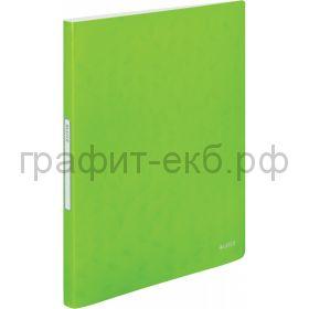 Папка 40 конвертов Leitz WOW зеленый 46320054