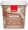 Лак для Бань и Саун Neomid Sauna 2.5л Акриловый, Сохраняет Натуральный Запах Древесины / Неомид Сауна