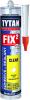 Клей-Герметик Tytan Professional Fix2 Clear 290мл Бесцветный, Универсальный / Титан Профессионал