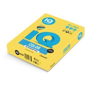 Бумага MAESTRO/IQ Color А4 80г/м 500л канар-жёлтая/ 5CY39