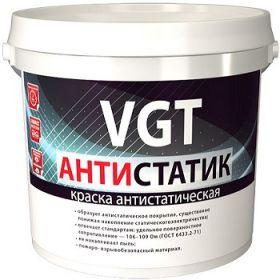 Краска Антистатическая VGT Антистатик 7кг для Стен и Потолков / ВГТ антистатик