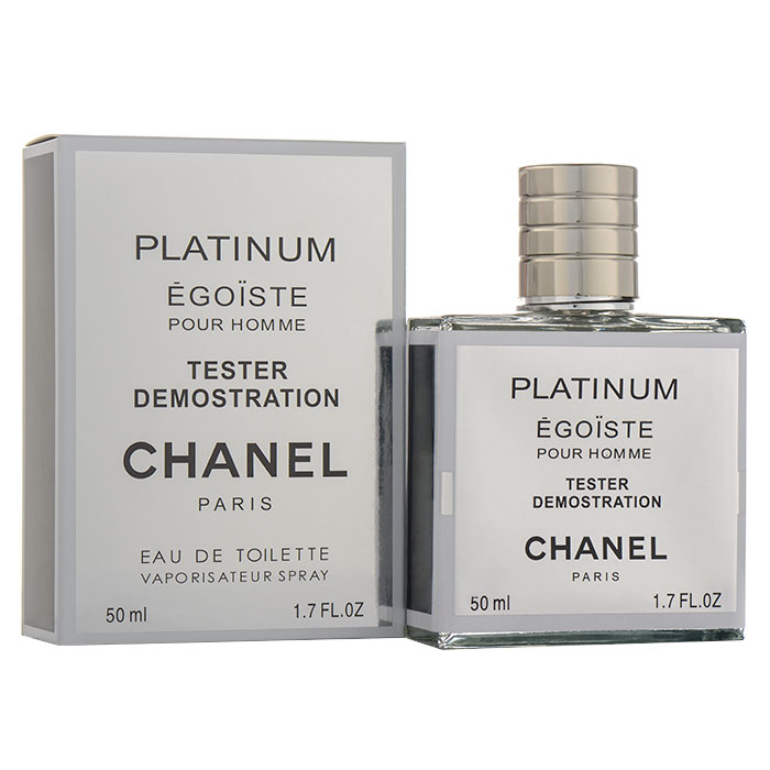 Tester 50ml - Chanel Egoist Platinum