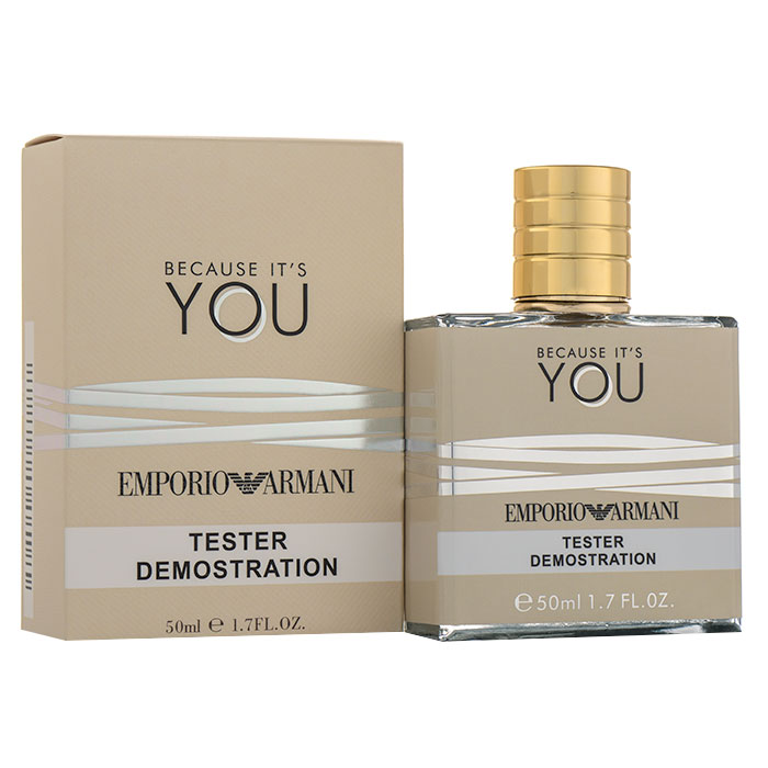 Tester 50ml - Emporio Armani Because It's You
