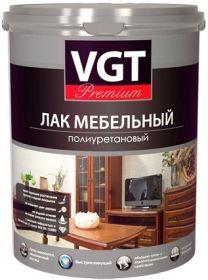 Лак Мебельный Полиуретановый VGT Premium 0.9кг Матовый, Глянцевый / ВГТ Премиум
