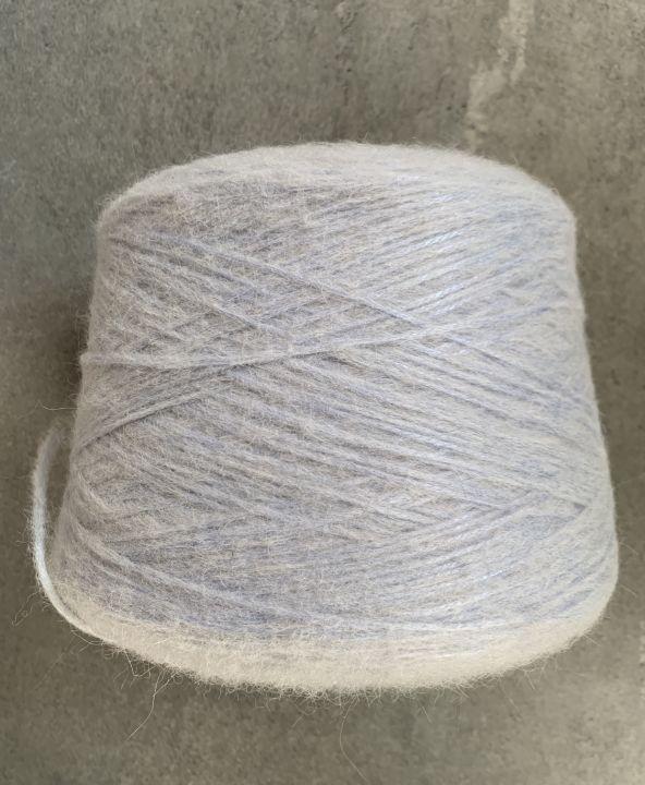 Шнурок С альпакой Sofking цвет светло-голубой