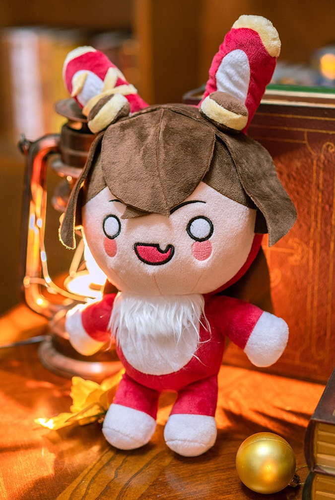 Мягкая игрушка Барон Банни из игры Genshin Impakt