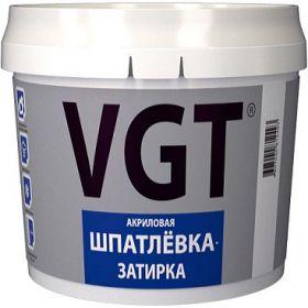 Шпатлевка-Затирка VGT 1кг Акриловая для Керамики и Дерева / ВГТ