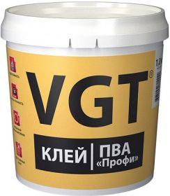 Клей ПВА Профи VGT 10кг для Деревы / ВГТ Профи