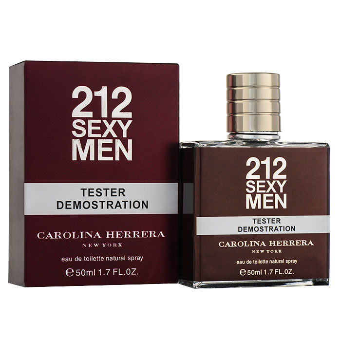 Tester 50ml - Carolina Herrera 212 Sexy Men