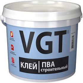 Клей ПВА Строительный VGT 10кг для Бытовых Работ / ВГТ Строительный