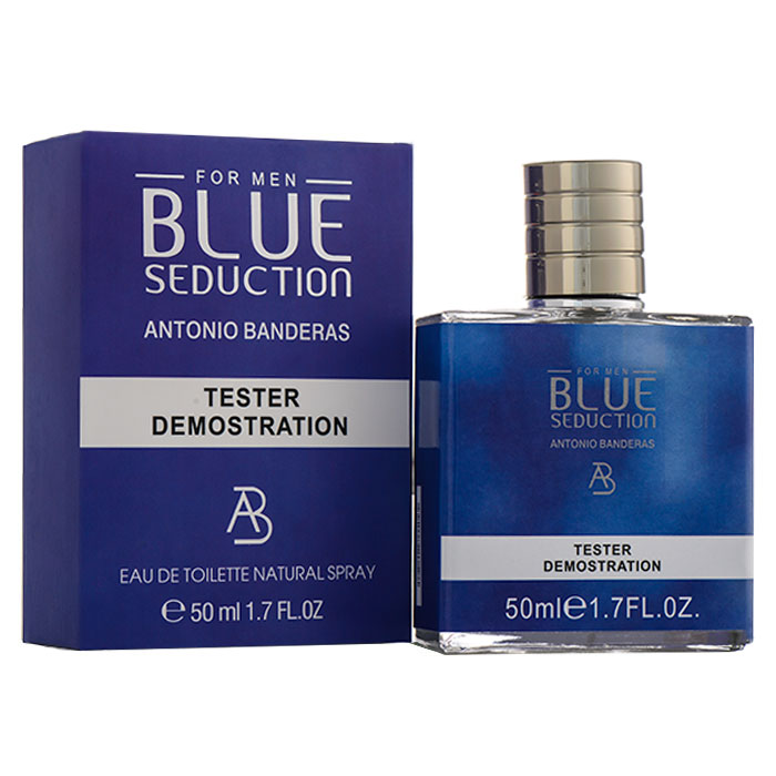 Tester 50ml - Antonio Banderas Blue Seduction For Man