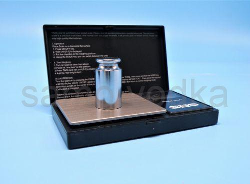 Весы мини  200 гр черные / 0,01 гр Pocket Scale