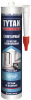Герметик Санитарный, Силиконовый Tytan Professional 280мл для Кухни и Ванной Бесцветный, Белый / Титан Санитарный