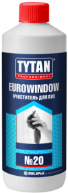 Очиститель для ПВХ Tytan Professional Eurowindow №20 0.95л / Титан Евровинд