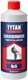 Очиститель для ПВХ Tytan Professional Eurowindow №5 0.95л / Титан Евровинд