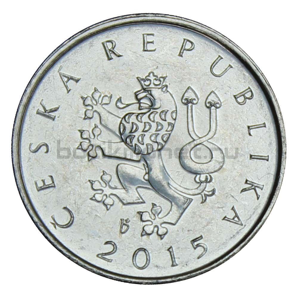1 крона 2015 Чехия