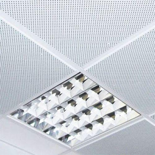 Потолок армстронг алюминиевый перфорированный