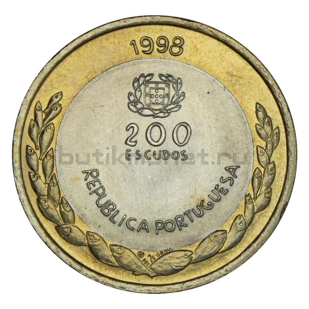 200 эскудо 1998 Португалия Международный год океана - ЭКСПО, 1998
