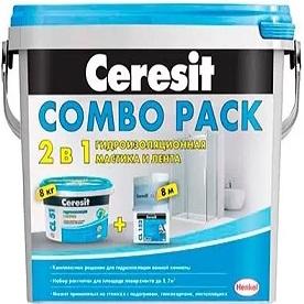 Гидроизоляция Ceresit CL 51 Combo 8кг + CL 152 8м / Церезит Комбо